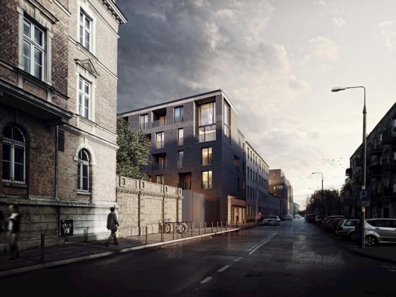 SOHO Warsaw Yareal HRA Architekci 2019 widok z ulicy