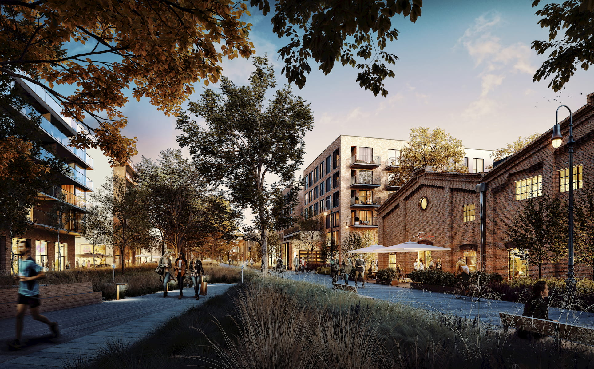 SOHO Warsaw Yareal HRA Architekci 2019 leisure area view