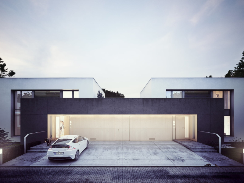 CUBUS house Simple Architecture 2014