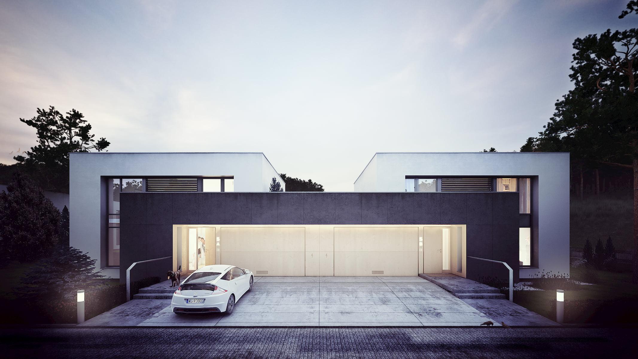 CUBUS house Simple Architecture 2014