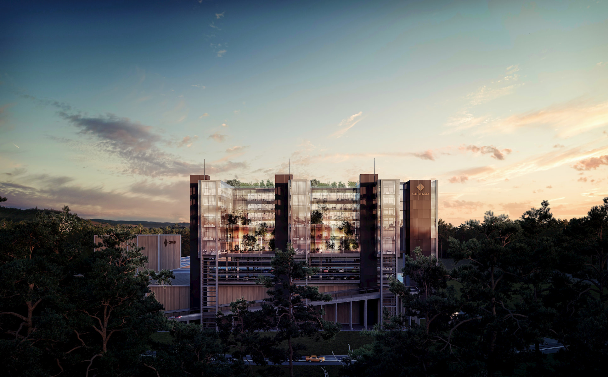 Cerrad Headquarters HRA Architekci 2018