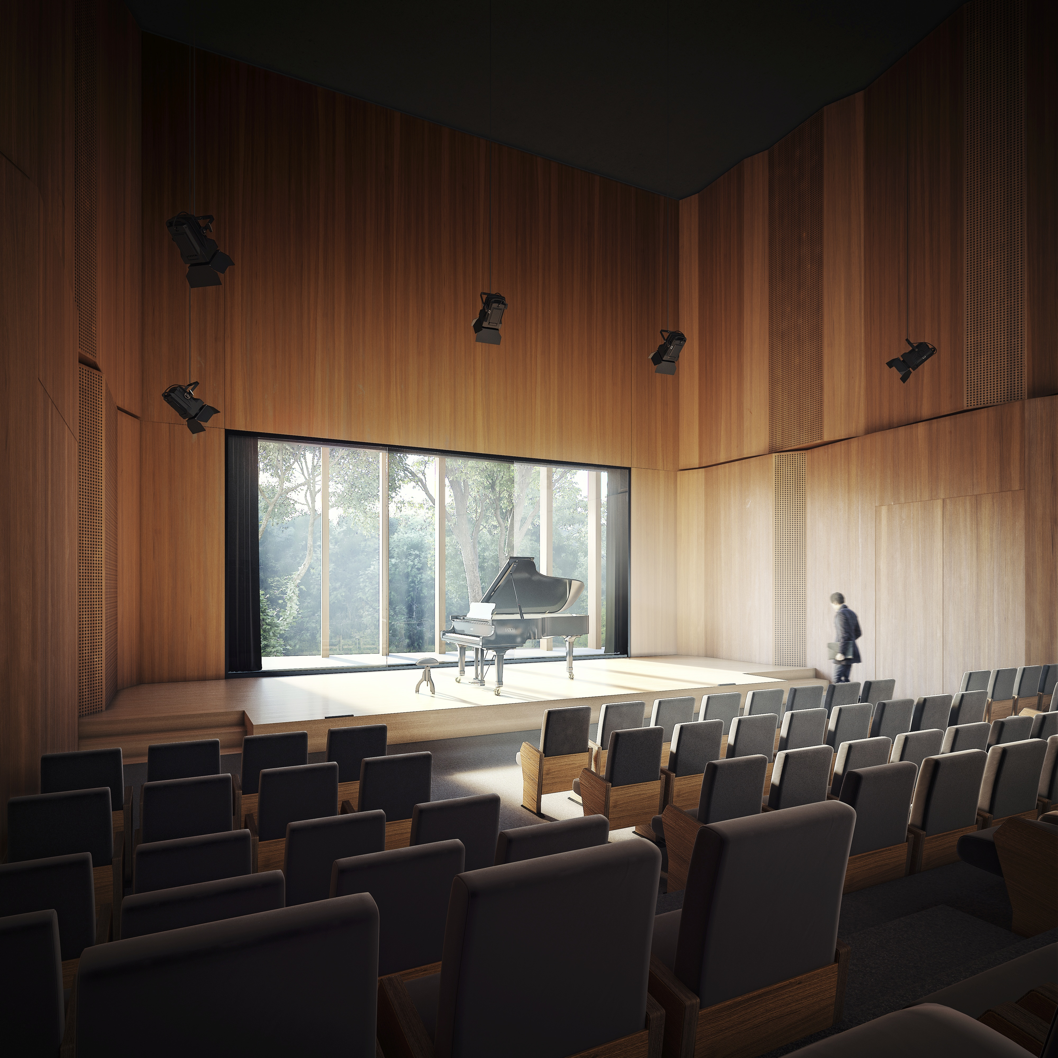 Chopin International Music Centre HRA Architekci 2018 small concert hall