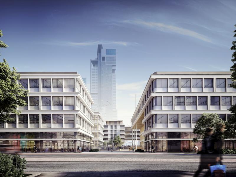 Gdynia Waterfront Vastint APA Wojciechowski Architekci 2017 widok z ulicy