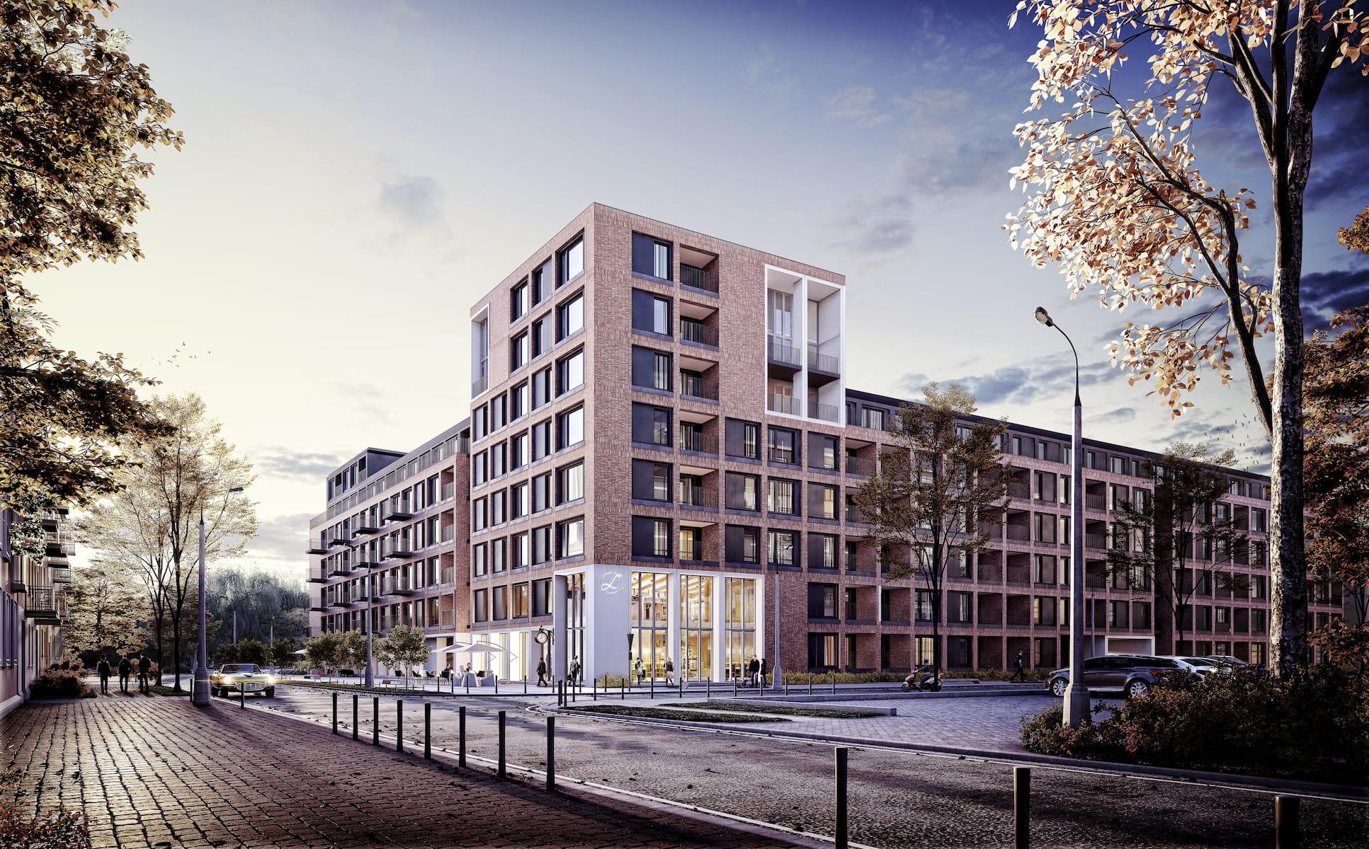 Housing estate in Warsaw BDMA 2017