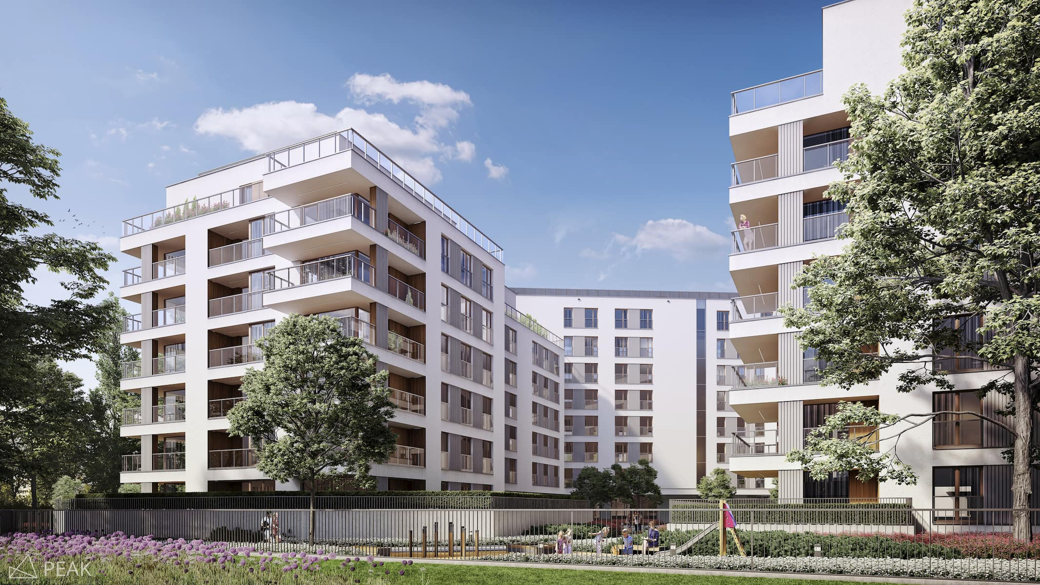 Housing estate in Warsaw HRA Architekci 2017
