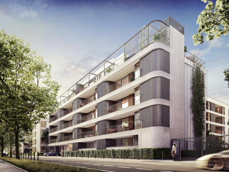 Lazienki Park Residence Yareal HRA Architekci 2018