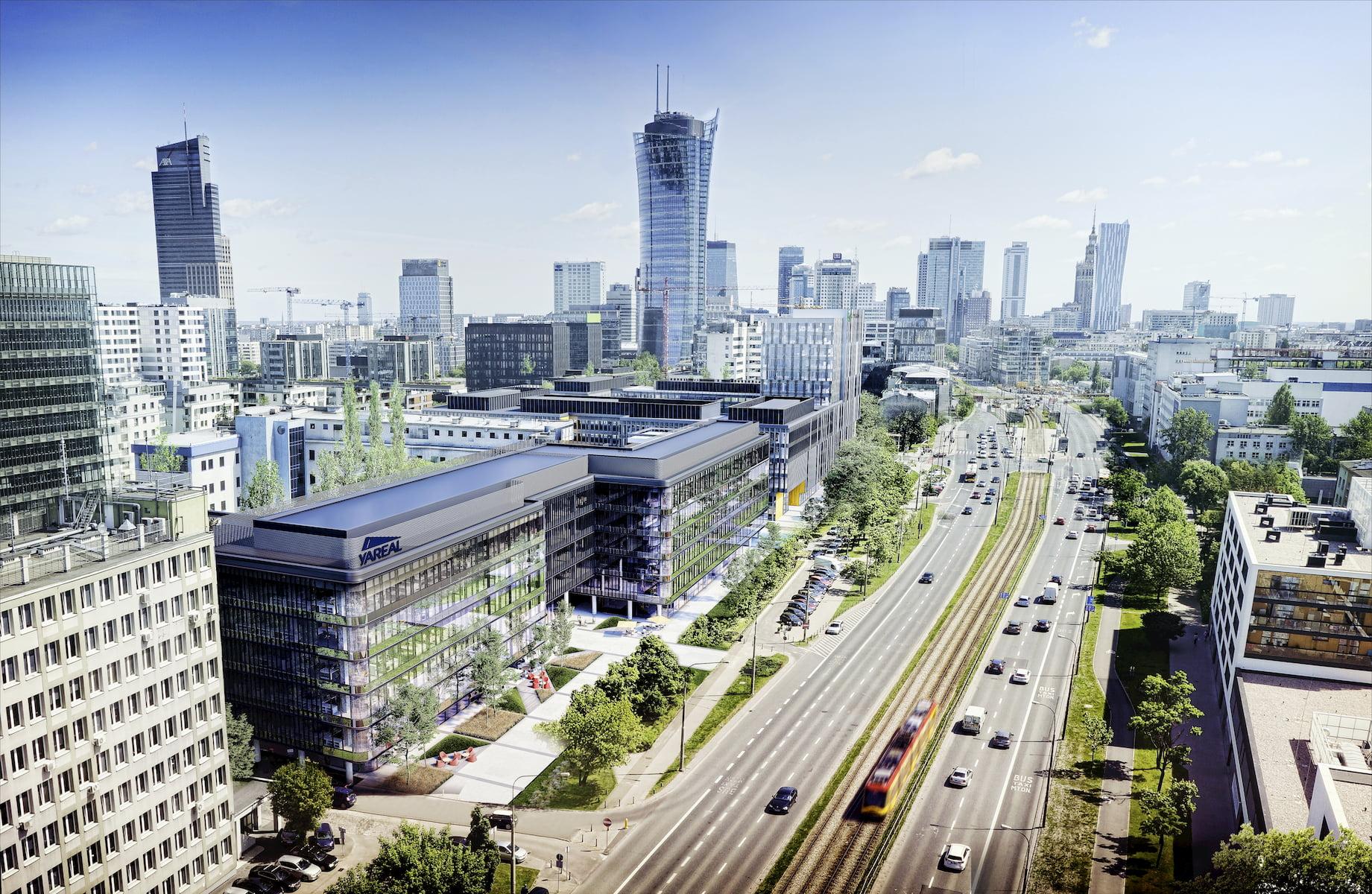 Lixa Office Park Yareal HRA Architekci 2014-2018 aerial view
