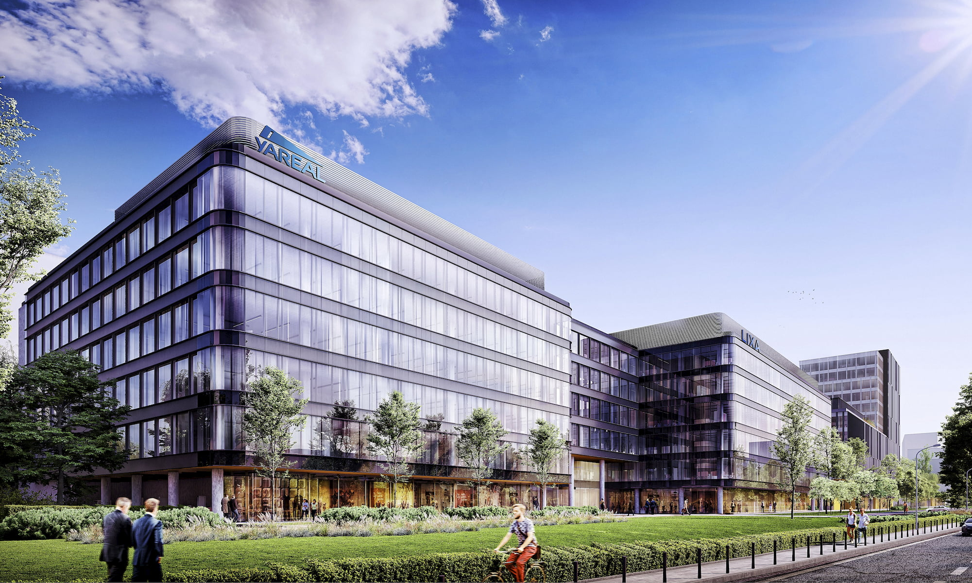 Lixa Office Park Yareal HRA Architekci 2014-2018 street view