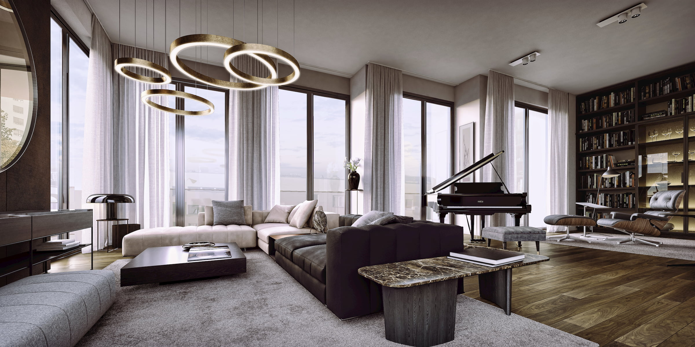 Luxurious interior Private investor Dembowska/Jagiello 2018