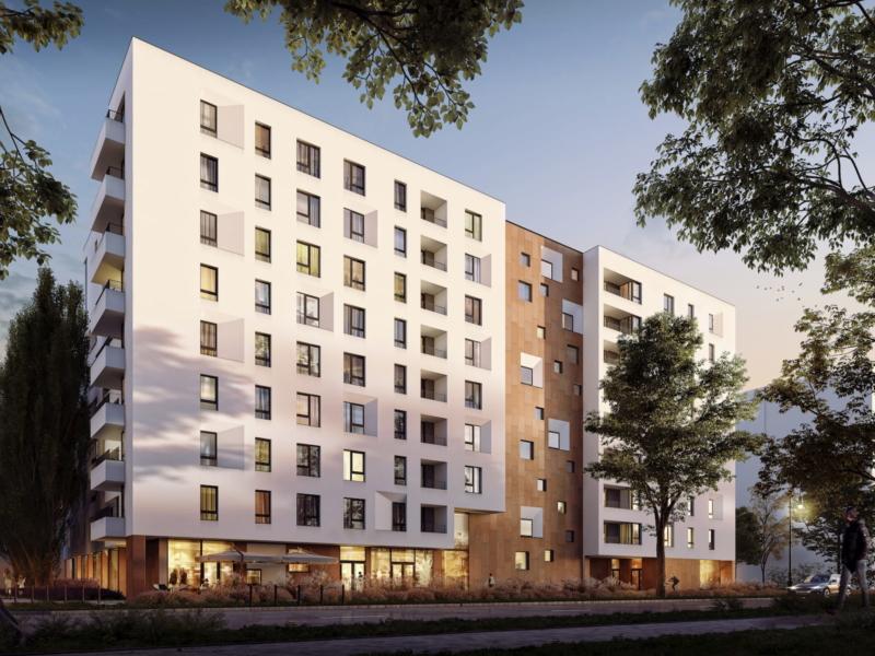 SOHO Warsaw Yareal HRA Architekci 2019 street view