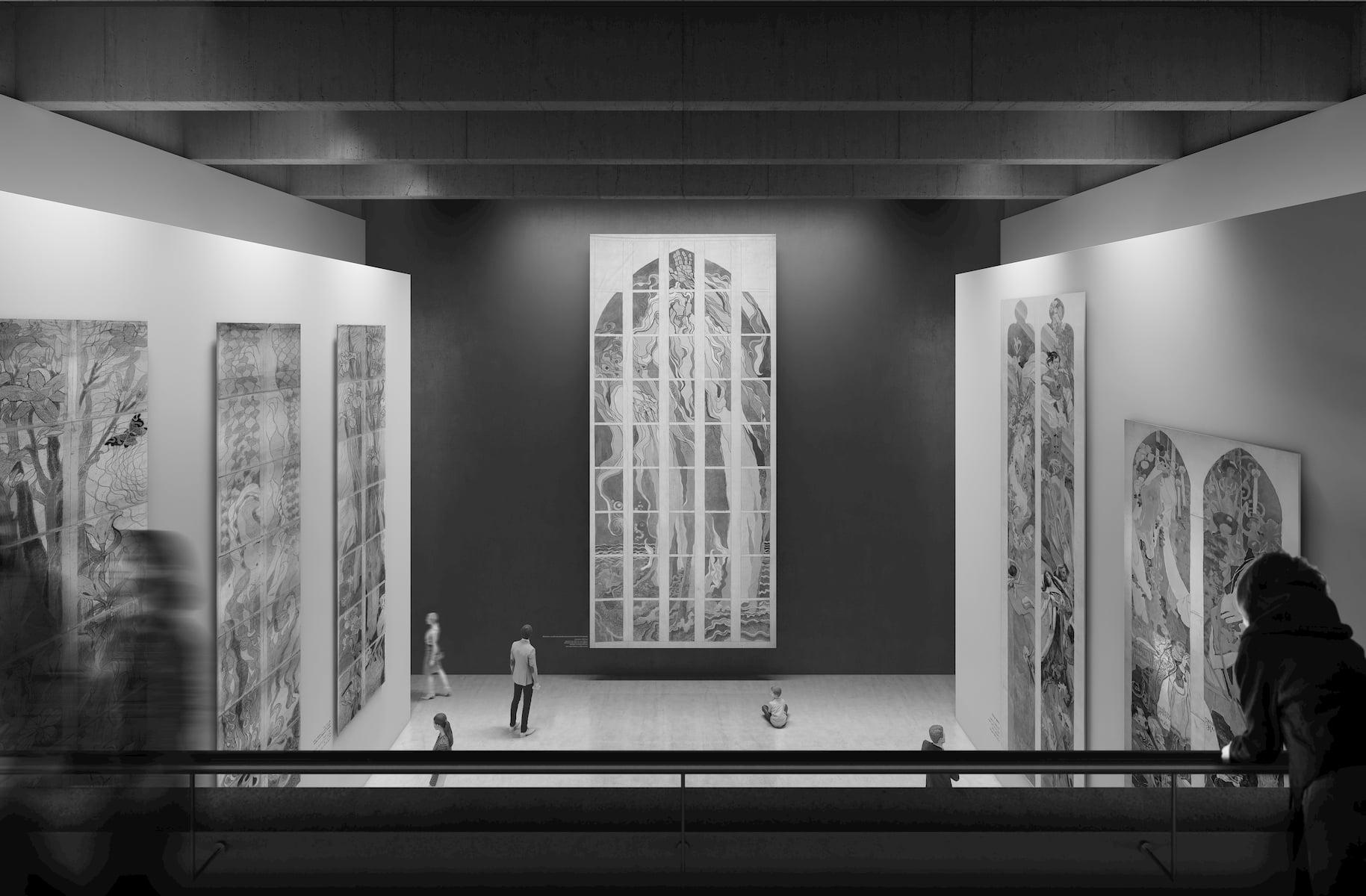 Stanislaw Wyspianski Museum in Krakow HRA Architekci 2019 exhibition space