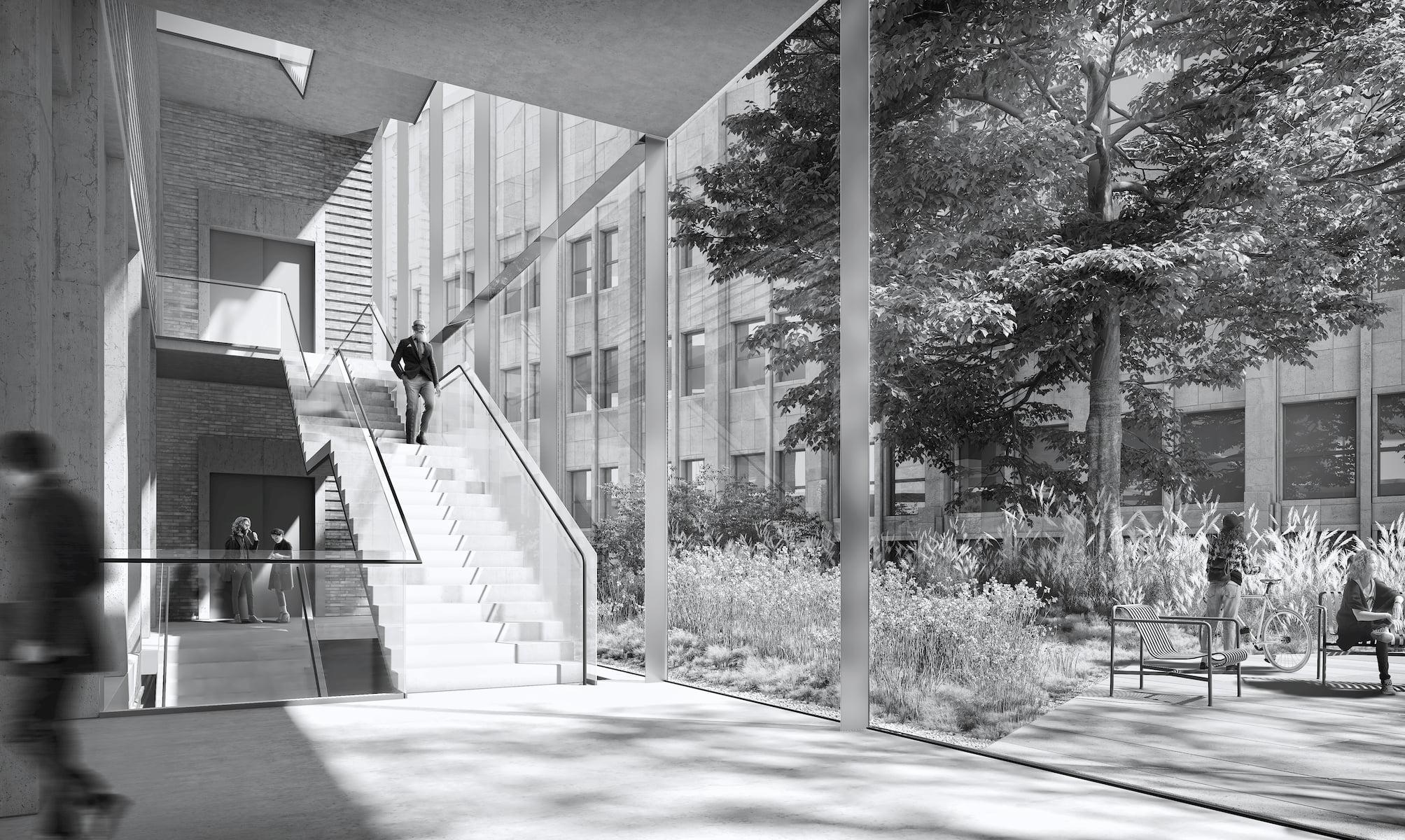 Stanislaw Wyspianski Museum in Krakow HRA Architekci 2019 hall