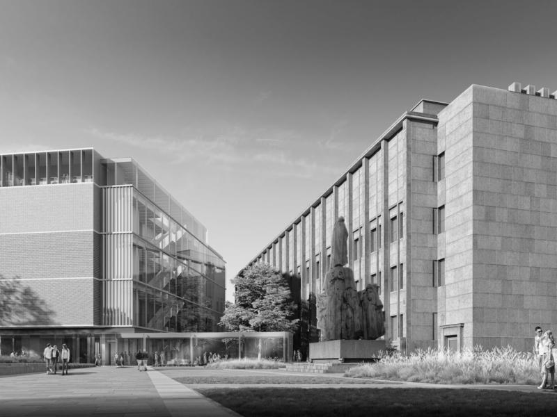 Muzeum Stanisława Wyspiańskiego w Krakowie HRA Architekci 2019 widok z ulicy