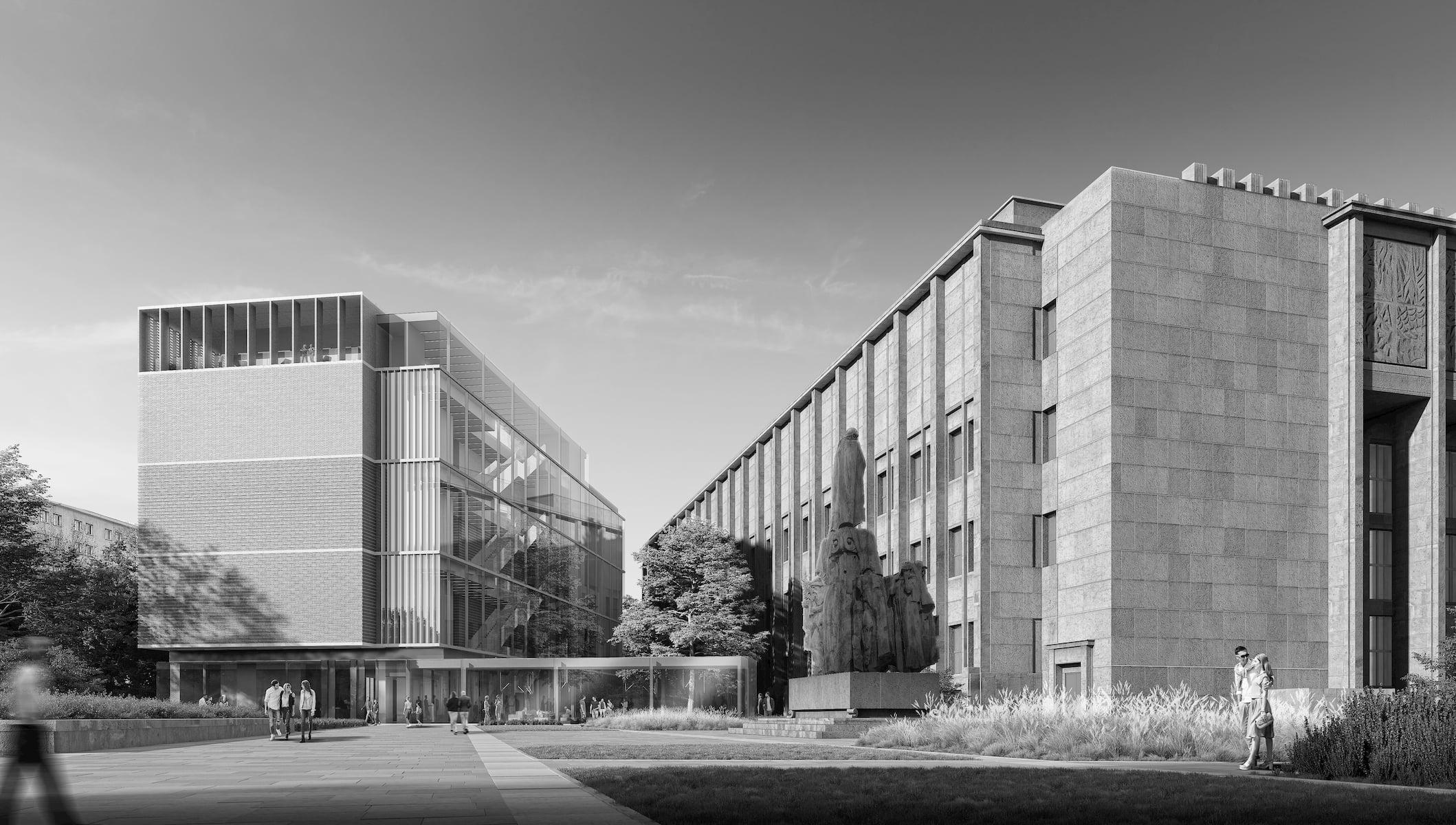 Stanislaw Wyspianski Museum in Krakow HRA Architekci 2019 street level