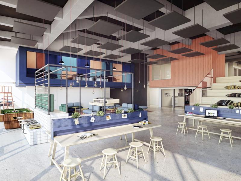 Student hostel Basecamp Student Grupa5 2019 interiors