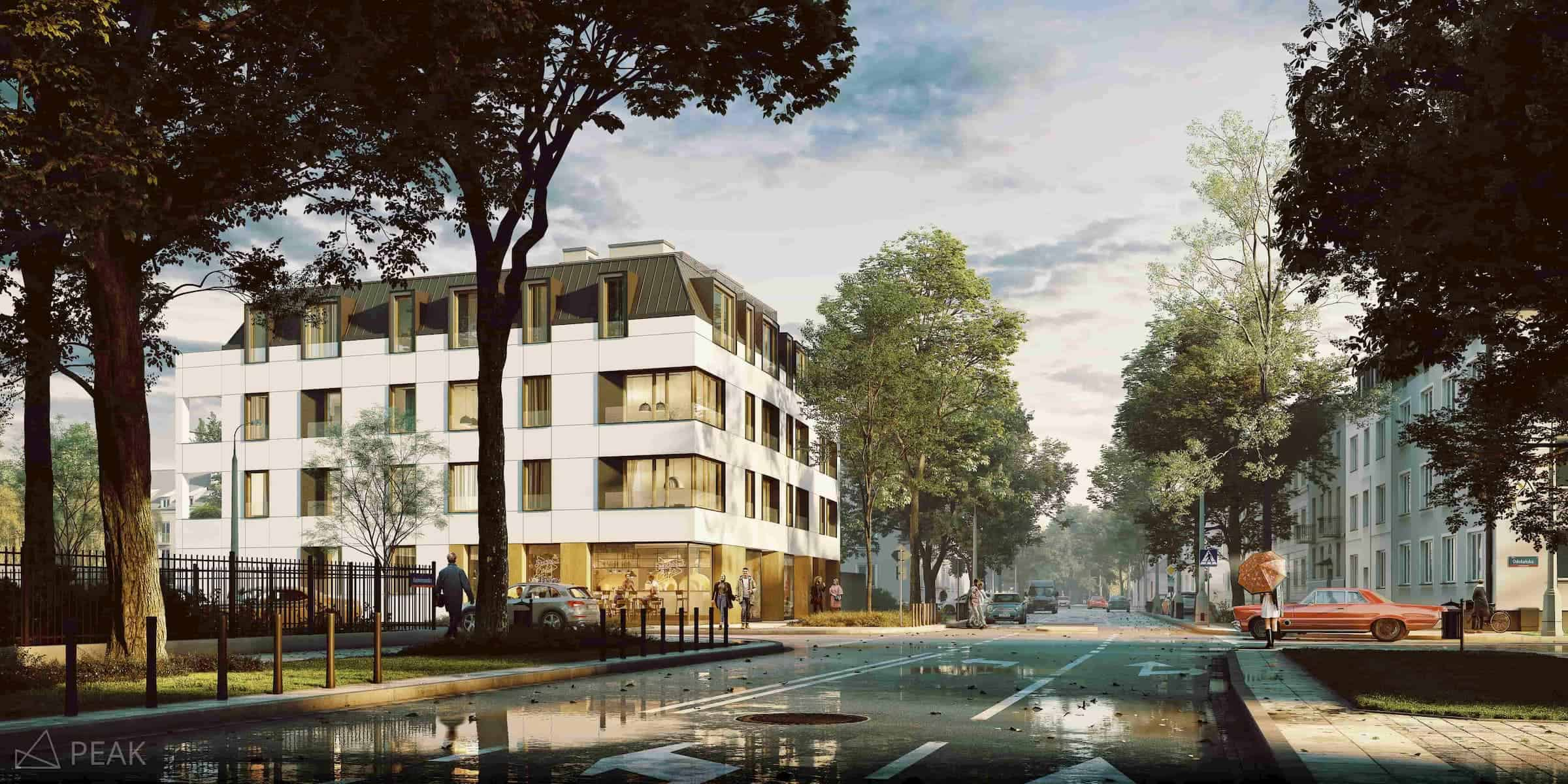 Apartment building in Warsaw Atelier 3 Girtler & Girtler 2017