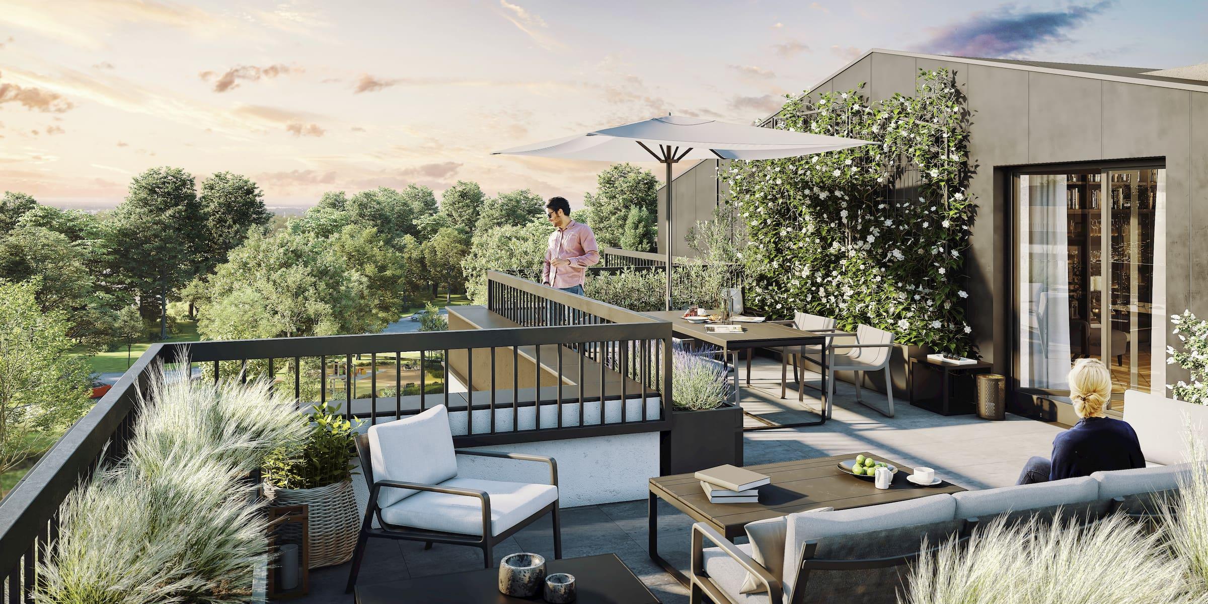 Housing estate in Warsaw Matexi 2016-2020